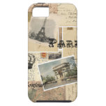 French Postcard Collage iPhone 5 Covers