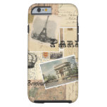 French Postcard Collage iPhone 6 Case