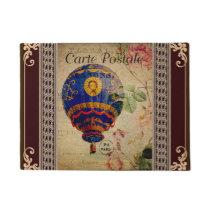 French Postcard Door Mat