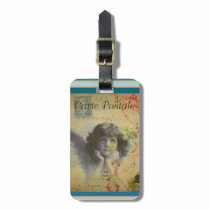 French Postcard Luggage Tag