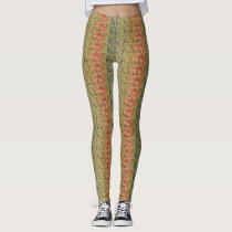 French Postcard Women's Leggings