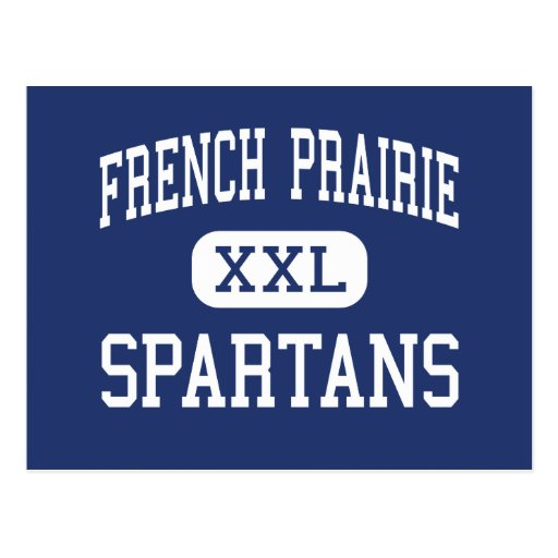French Prairie Spartans Middle Woodburn Postcard