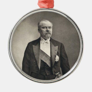 French President Raymond Poincaré Metal Ornament