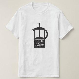 French Press Coffee Snob T-Shirt