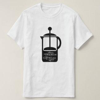 French Press Coffee T-Shirt