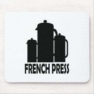 French Press Mouse Pad