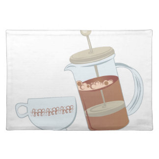 French Press Placemat