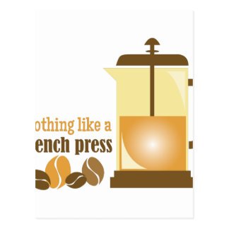 French Press Postcard