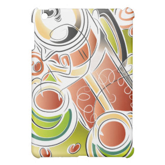 French Pressed Coffee iPad Mini Cover