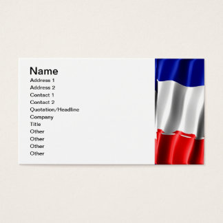French Pride Business Card