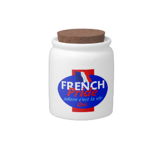 FRENCH PRIDE CANDY JAR
