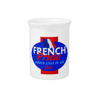 FRENCH PRIDE PITCHERS