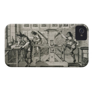 French printing press, 1642 (engraving) Case-Mate iPhone 4 case