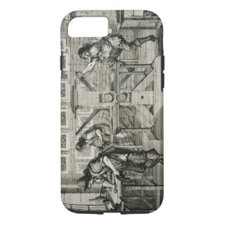 French printing press, 1642 (engraving) iPhone 8/7 case