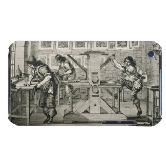 French printing press, 1642 (engraving) iPod touch cover