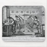 French printing press, 1642 mouse pad