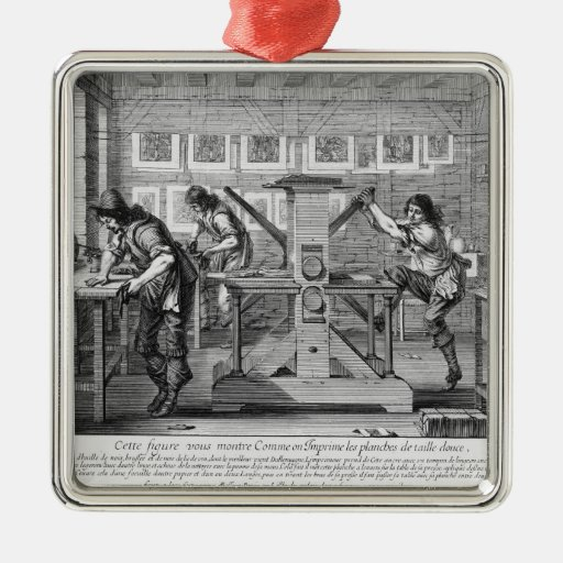 French printing press, 1642 ornaments