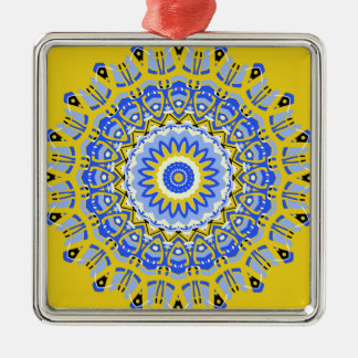 French Provencal Style Kaleidoscope Ornament