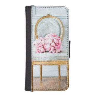 French Provencial Flowers iPhone SE/5/5s Wallet