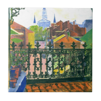 French Quarter Balcony Ceramic Tile