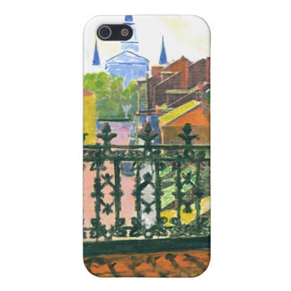 French Quarter Balcony iPhone 5 Cover