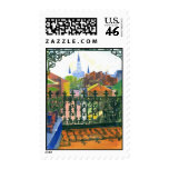 French Quarter Balcony Postage Stamps