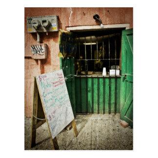 French Quarter Bar Postcard