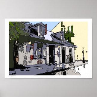 French Quarter Black Smith Shop, Print