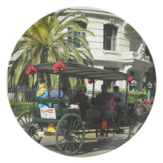 French Quarter Buggy Ride Photography  Plate