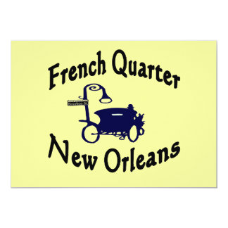 French Quarter Carriage Ride Card