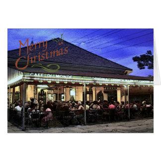French Quarter Christmas Card