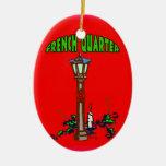 French Quarter Christmas Christmas Ornament