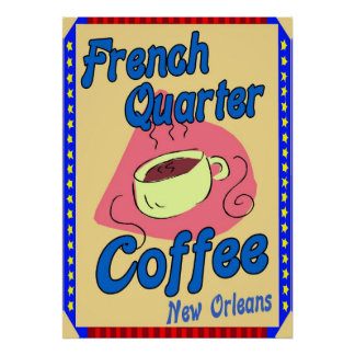 French Quarter Coffee Print
