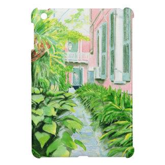 French Quarter Courtyard iPad Mini Cases