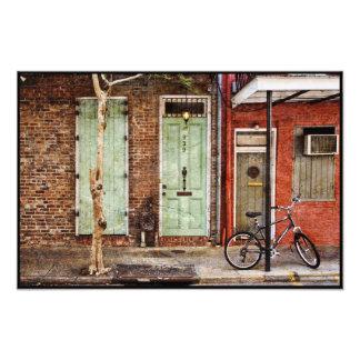 French Quarter Doorways Photograph