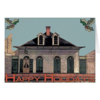 French Quarter Holiday Card