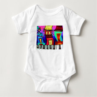 French Quarter houses on Royal Street Baby Bodysuit