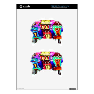 French Quarter houses on Royal Street Xbox 360 Controller Decal