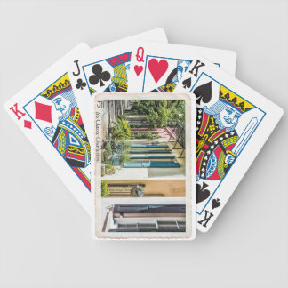 French Quarter in Historic Charleston, SC Bicycle Playing Cards