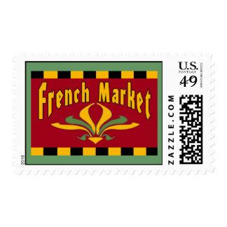 French Quarter MArket Fleur De Lis Postage