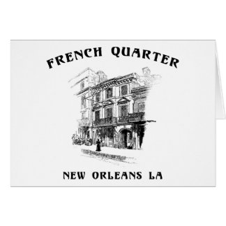 French Quarter New Orleans Card