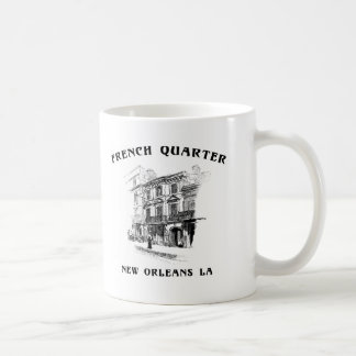 French Quarter New Orleans Classic White Coffee Mug