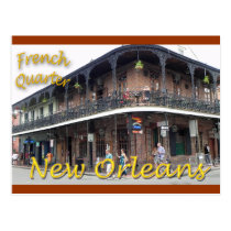 French Quarter New Orleans Postcard