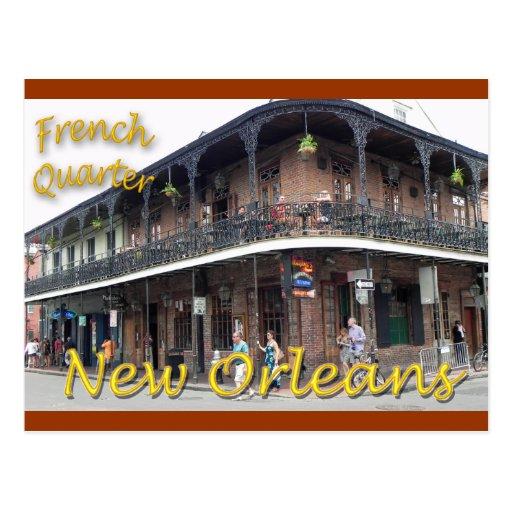 French Quarter New Orleans Postcard