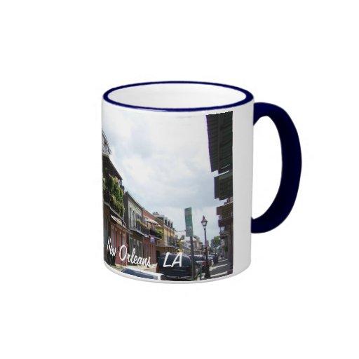 French Quarter Street View New Orleans Louisiana Coffee Mug