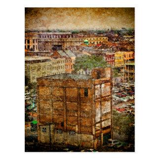 French Quarter Textures Postcard
