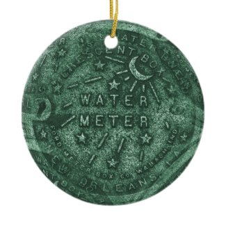 French Quarter Water Meter ornament