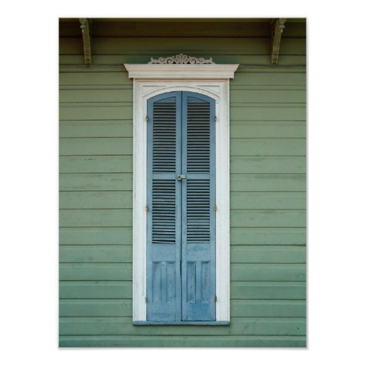 French Quarter Window Posters