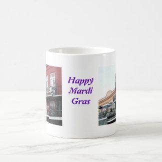 French Quarter Wrought Iron Balconies Classic White Coffee Mug