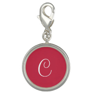 French Raspberry Upscale Color Design Photo Charm